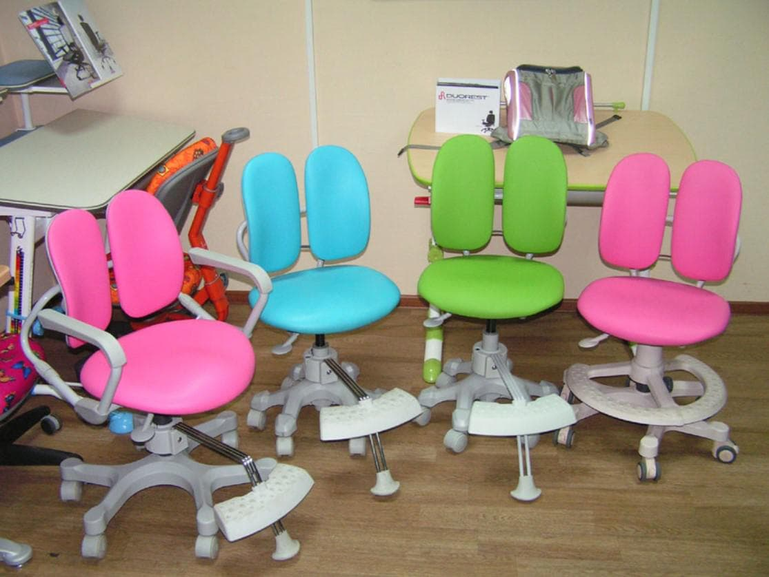 Ортопедический стул для школьника для дома