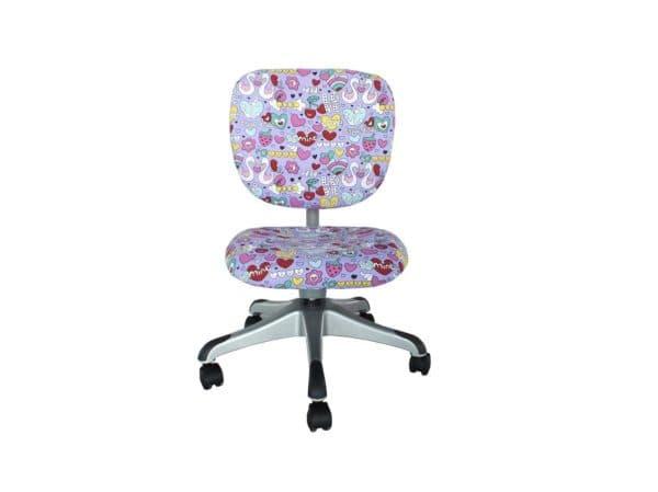 разноцветный детский стул для учебы