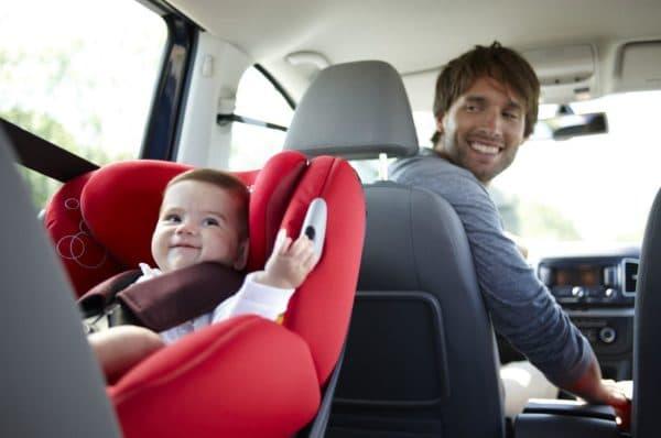 Комфортное автокресло для ребенка
