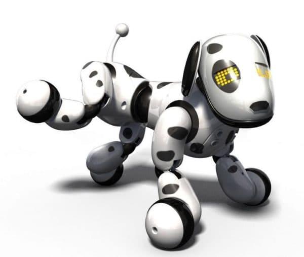 интерактивная игрушка робот пес