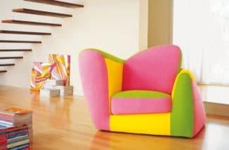модное кресло-кровать для ребенка
