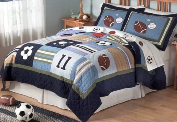 покрывало на кровать для мальчика бейболиста