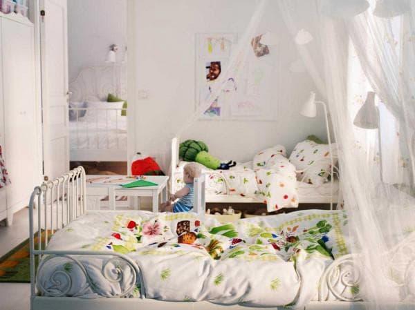 мебель для детской с двумя девочками