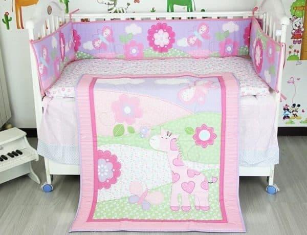 покрывало на кровать для маленькой девочки