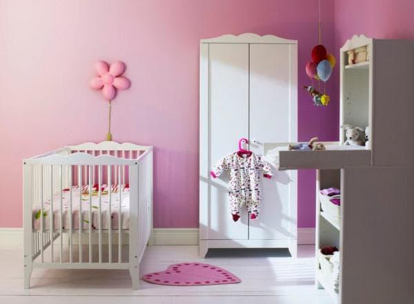 комната для новорожденного ИКЕА