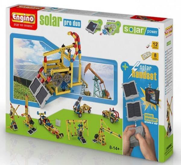 Конструктор для мальчика электронный с солнечными батареями