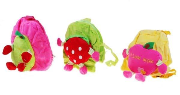 детский рюкзак с фруктами и ягодами