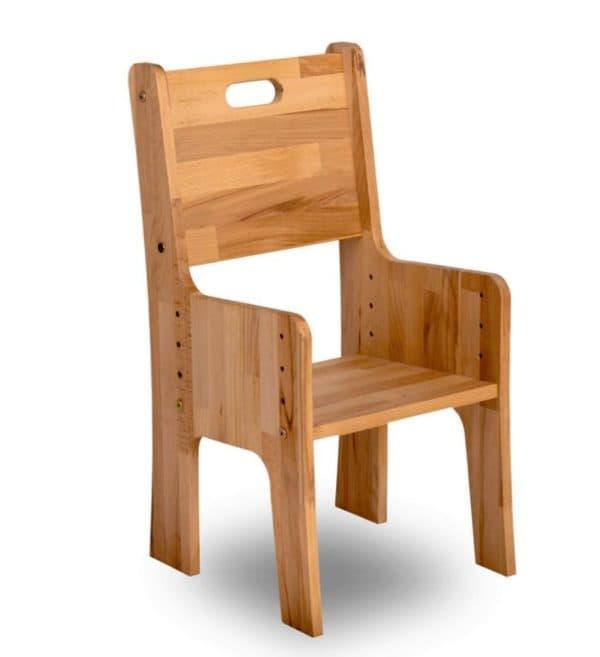 деревянный стул растишка для учебы