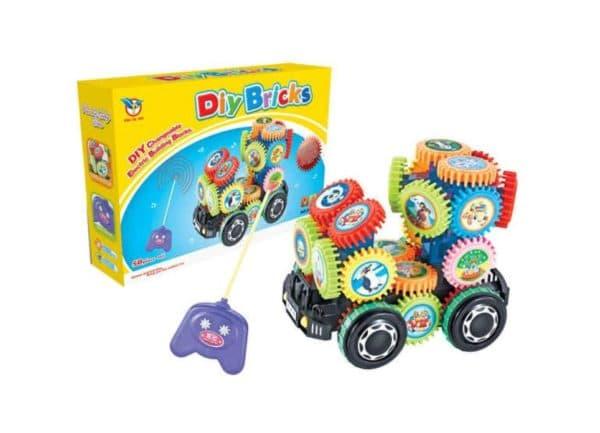 Электронный грузовик для ребенка с пультом
