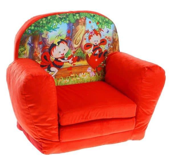 кресло кровать для девочки