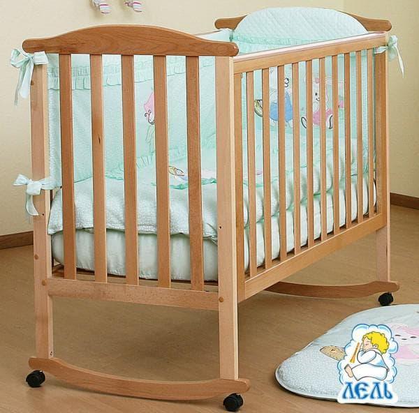 кроватка для новорожденного Лютик