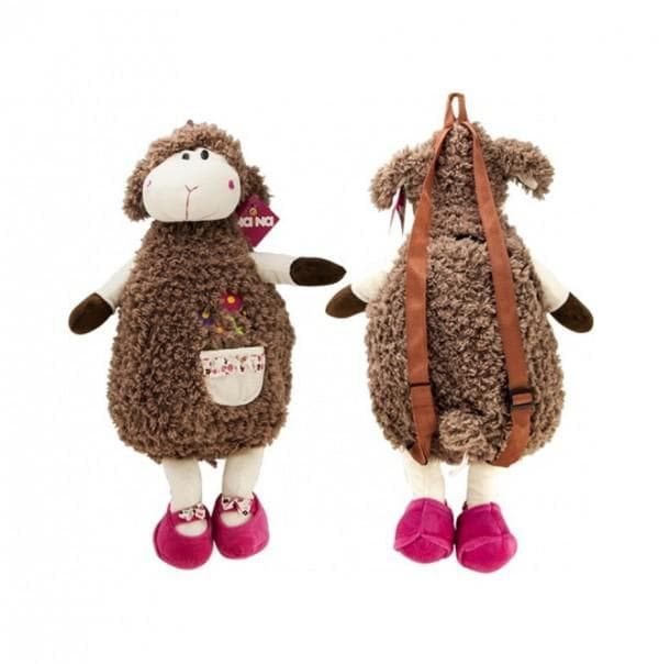 детский мягкий рюкзак овечка