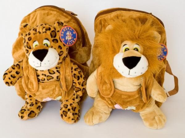 Рюкзачки в виде львят