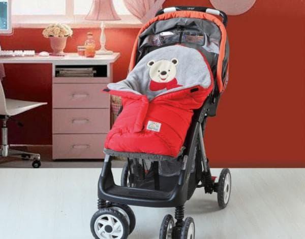 коляска детская прогулочная на зиму