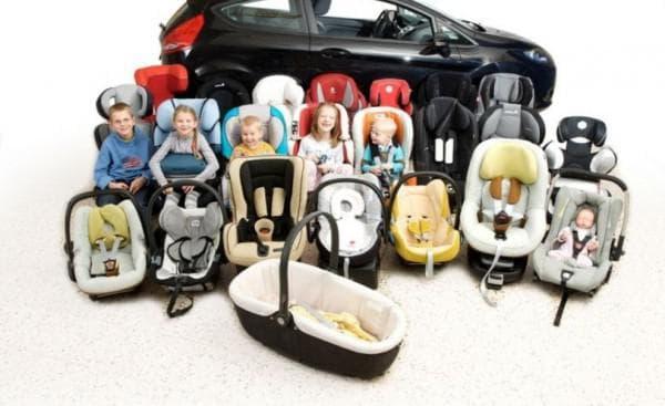 Разновидности автокресел для детей