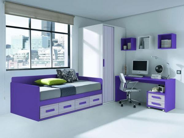Кровать двухъярусная для двоих детей