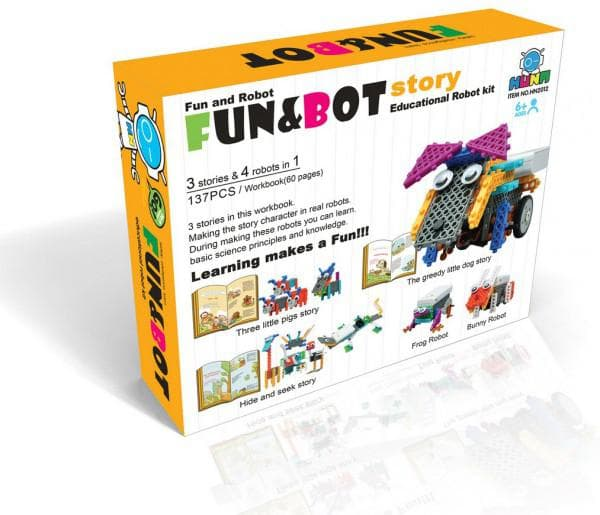 Игровые роботы конструкторы HUNA