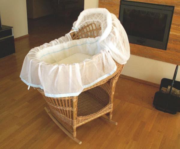 Российские плетеные колыбели для новорожденных