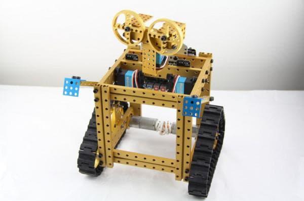Робот конструктор металлический программируемый