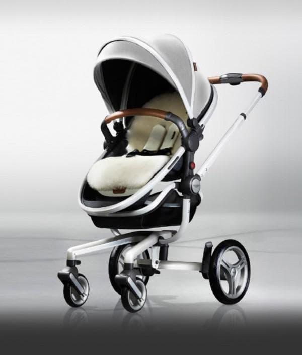 Роскошная коляска для новорожденного