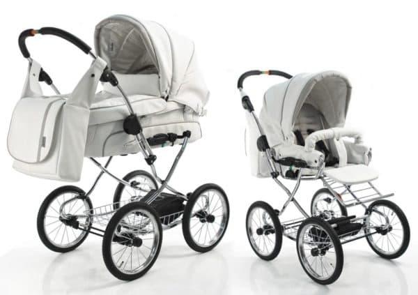 Функциональная коляска для новорожденного 2 в 1