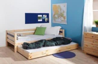 Кровати двухъярусные выкатные