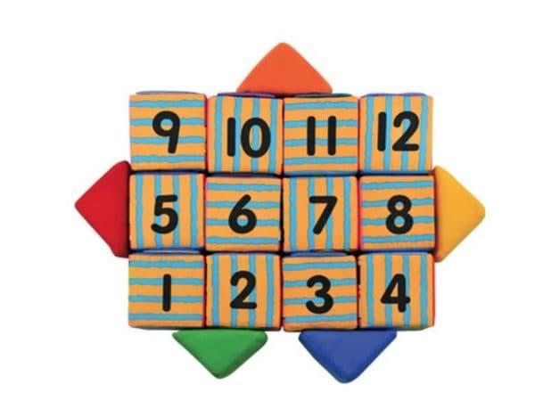 Поролоновые кубики для малышей