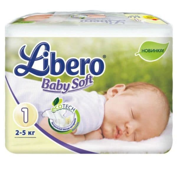 Подгузники Libero для новорожденных отзывы