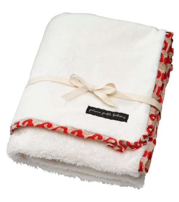 Стильное теплое одеяло для новорожденного