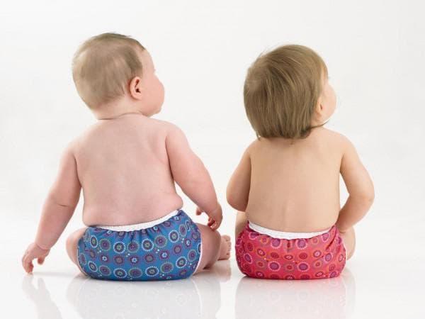 Многоразовые подгузники для малышей