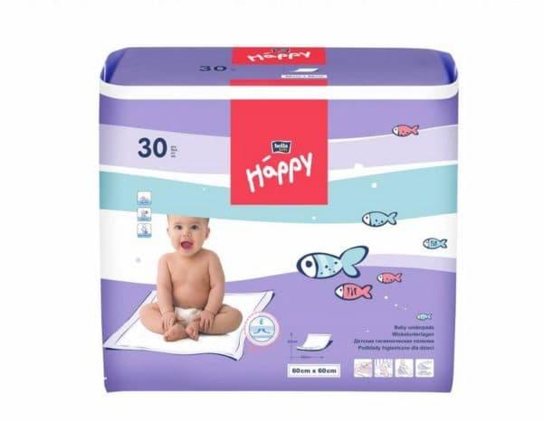 Качественные влаговпитывающие пеленки для новорожденных