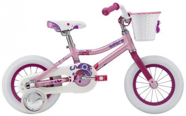 Розовый велосипед для девочки от 3 лет
