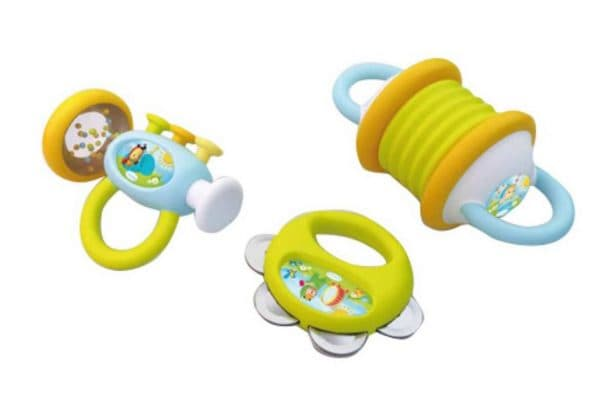 Первый музыкальный инструмент для ребенка до 1 года