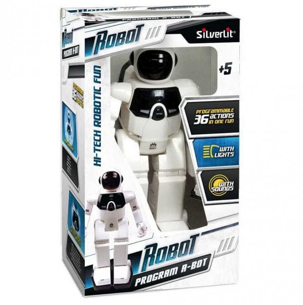 Программируемый робот на пульте управления