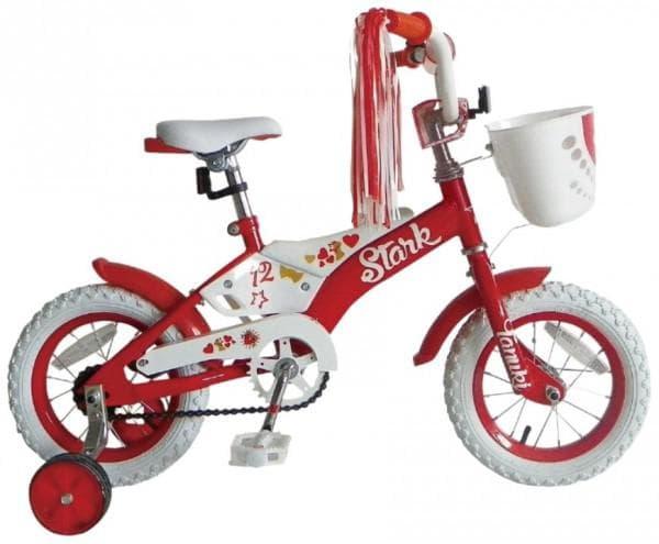 Безопасный велосипед для маленькой девочки