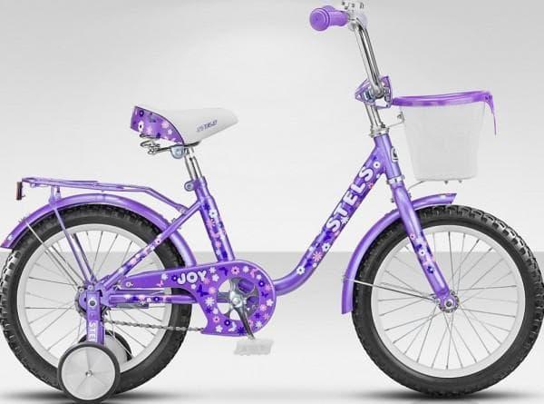 Яркий велосипед для девочки