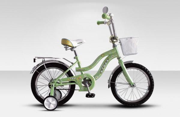 Велосипед с корзиной для девочки 5 лет