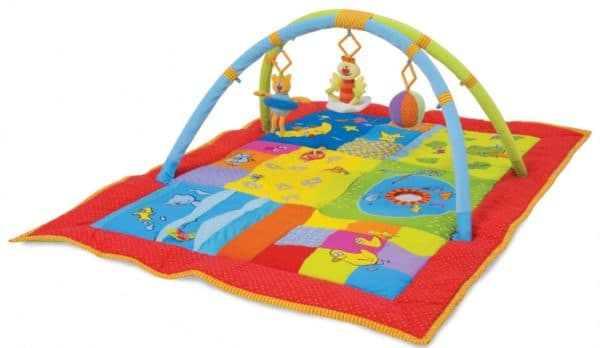 Игровой музыкальный коврик для детей до 1 года