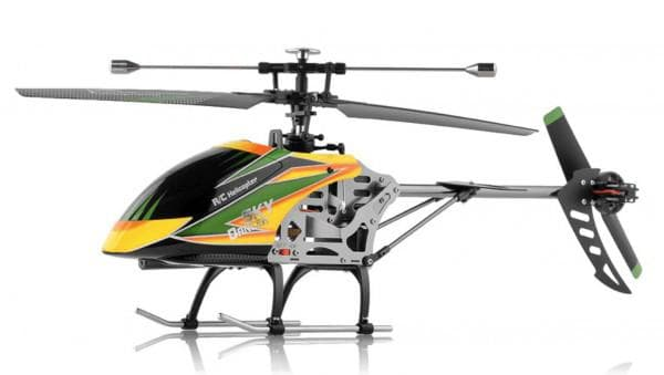 Классный вертолет с пультом для мальчика