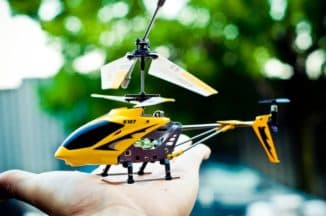 Вертолет с пультом управления для мальчика
