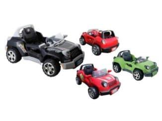 Машинки с аккумулятором и пультом ДУ