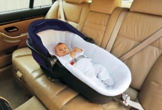 Люлька для новорожденного в автомобиль