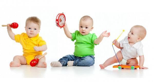 Музыкальные инструменты для детей до 1 года