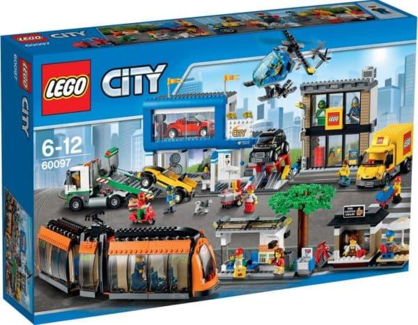 Конструктор для девочки от 5 лет Лего Сити