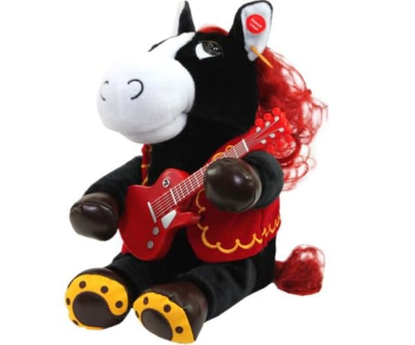 Поющий конь с гитарой