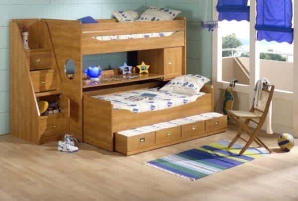 Кровать трансформер для троих детей