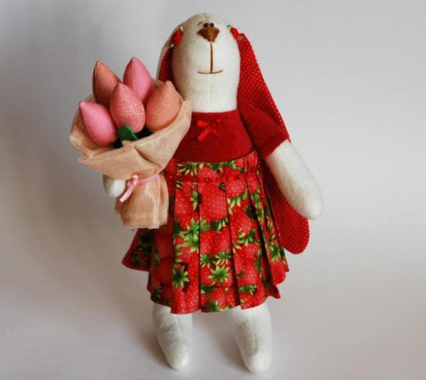 Заяц с большими ушами игрушка