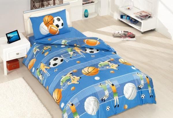 Бязевое постельное белье для мальчика