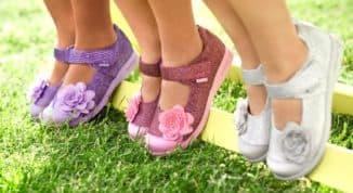 Красивая ортопедическая обувь при вальгусной стопе у ребенка