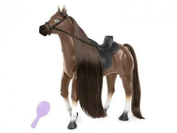 Пластиковая игрушечная лошадка